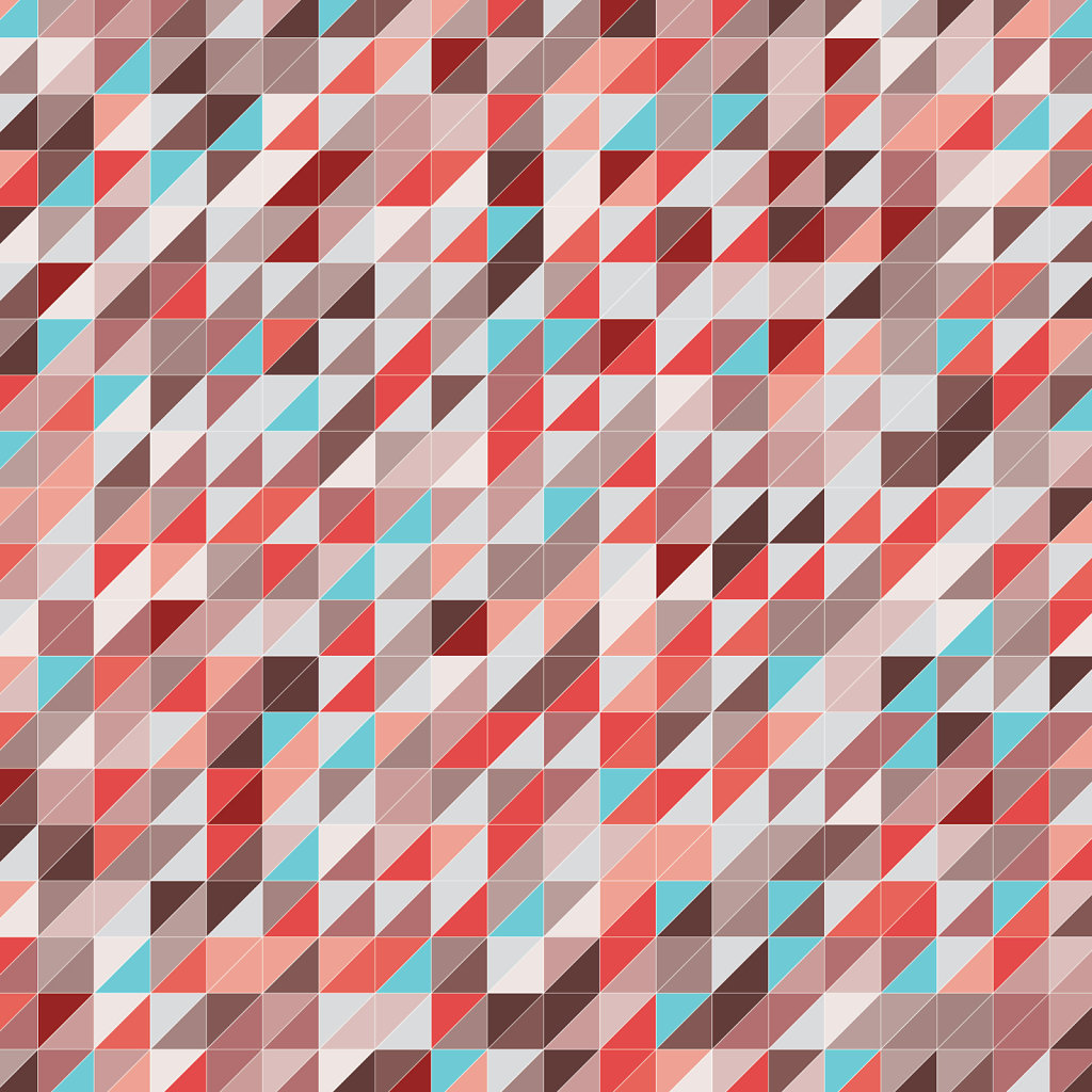 autumn splash geometric pattern