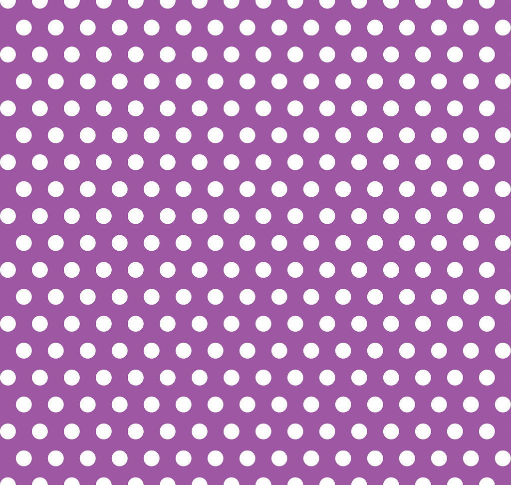 Purple with white polka dot background pattern background