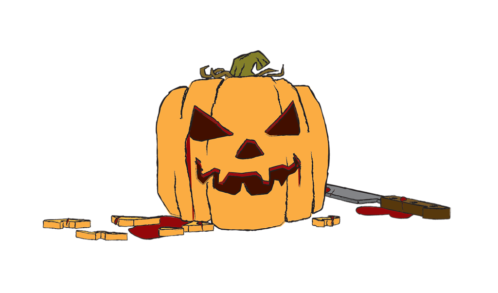 Carved Pumpkin transparent background