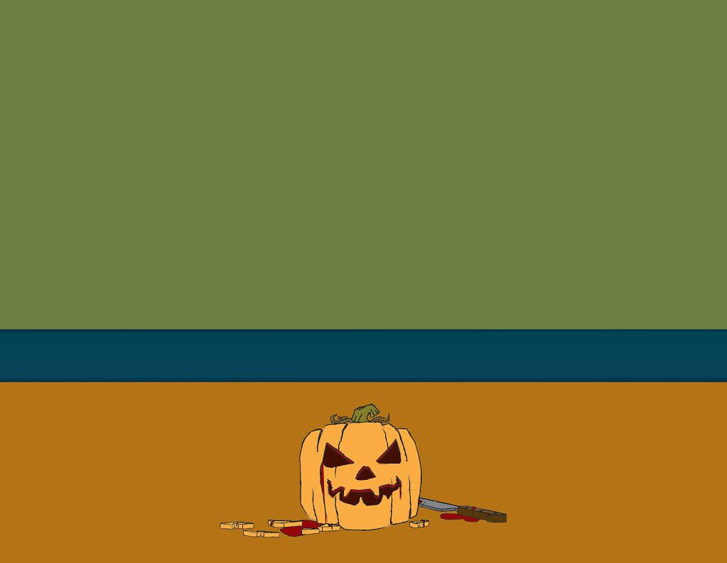 Halloween invitation blank
