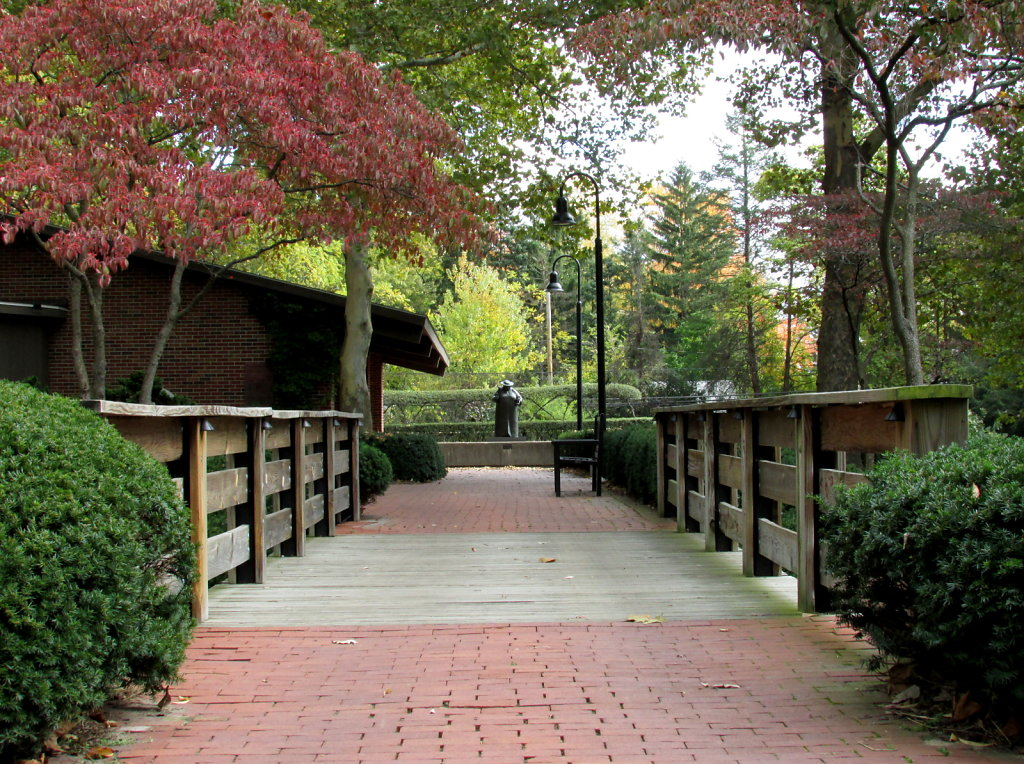 free image stock of brick park path