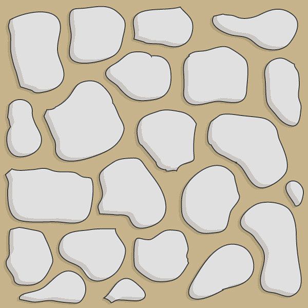 Sand stone 2x2 basic path tile